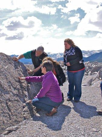 Frank Slide Interpretive Centre: Guided walk on the Frank Slide Trail