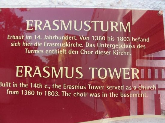 Erasmusturm: detail