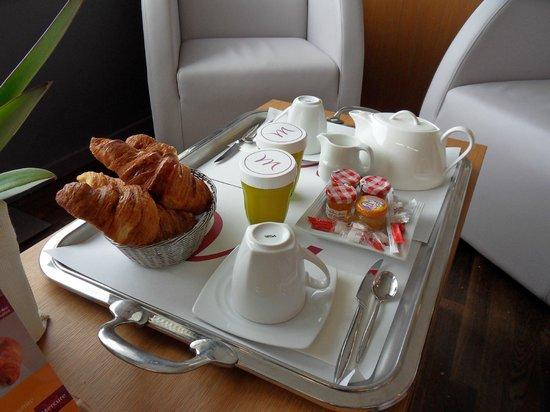 Mercure Bords de Loire Saumur : Breakfast option