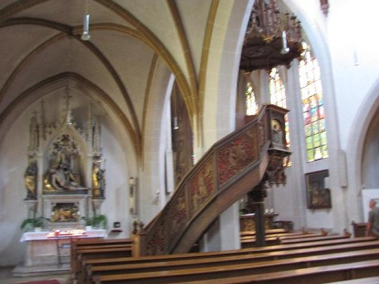 Assumption of Our Lady Church: interior