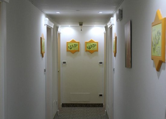 Hotel Gabry: Веселенький коридорчик :)
