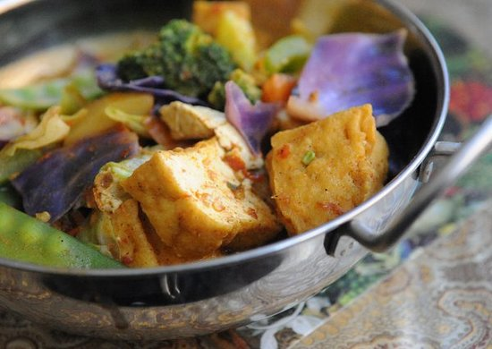 Jenny's Kuali: Malaysian Curry Vegetables