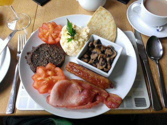Kettle House B&B : the breakfast!