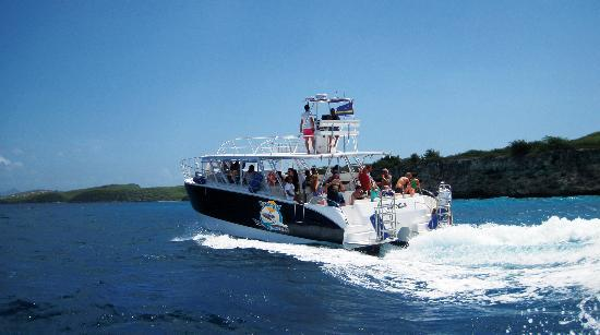 Pisca Bay Boat Trips: Our luxury motor-catamaran