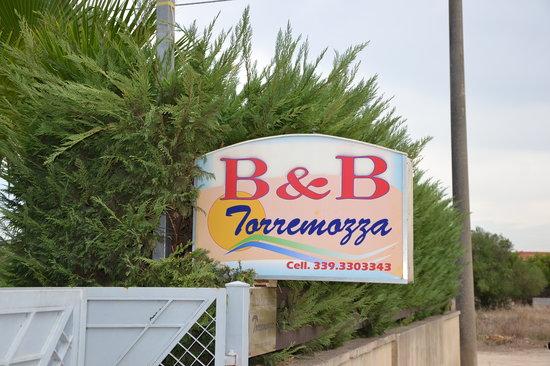 B&B Torremozza : entrata