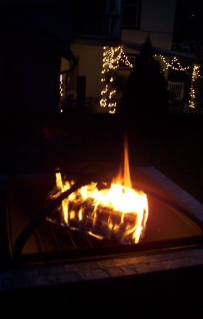 The Briar Rose Bed and Breakfast: fire pit