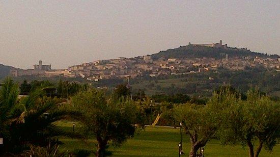 Il Casale di Monica : Veduta di Assisi dalla camera