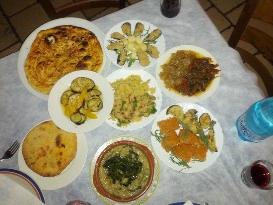 Ristopizza Blues Remember Food Salento: Antipasti del Salento