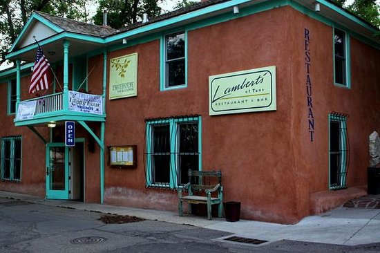 Lambert's of Taos : Lambert's Restaurant on Bent Street