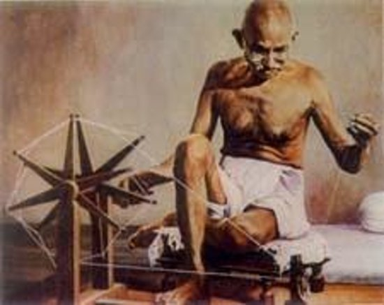 the life and contributions of mohandas karamchand gandhi Mahatma gandhi 1869-1948 mohandas karamchand leader of the muslim faction in 1944 gandhiji addressing a huge gathering gandhi led a very simple life gandhi.