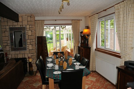 Grove House: Part of the Dining Area