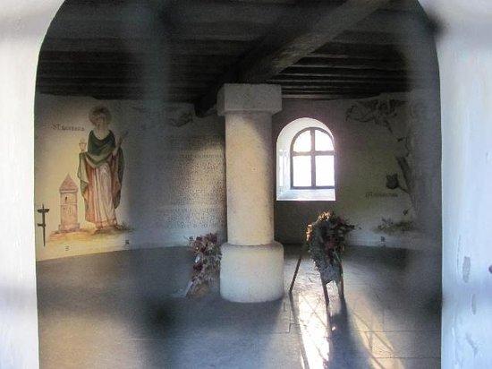 Schleifer-Romertor: interior