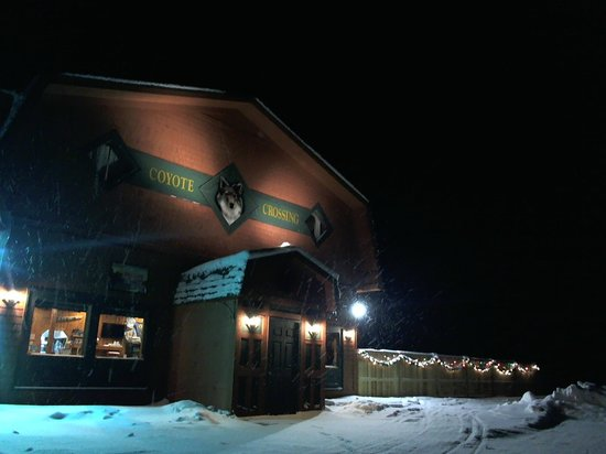 Coyote Crossing Resort: Winter at Coyoties.