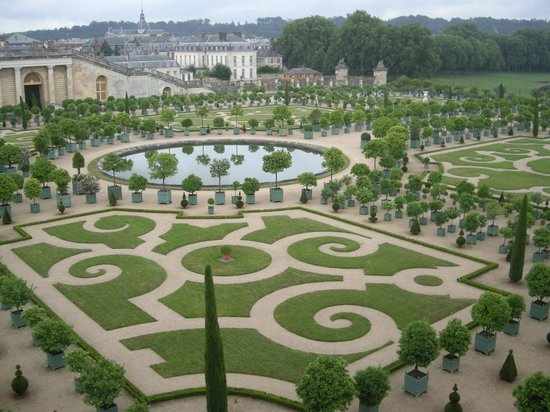 Tuin Van Versailles Foto Van Kasteel Van Versailles Versailles