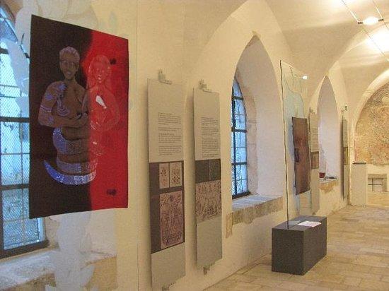 Franziskanerkirche: exibition detail