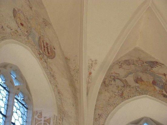 Franziskanerkirche: choir frescoes
