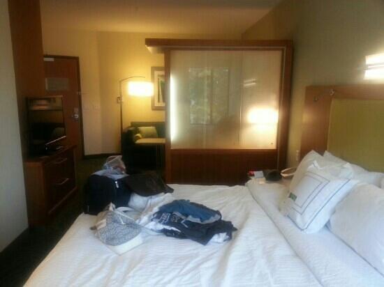 SpringHill Suites Coeur d'Alene : nice modern spacious rooms