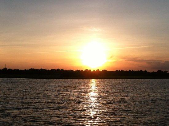 American Funship - Tours: good times on American funship sunset cruise!!