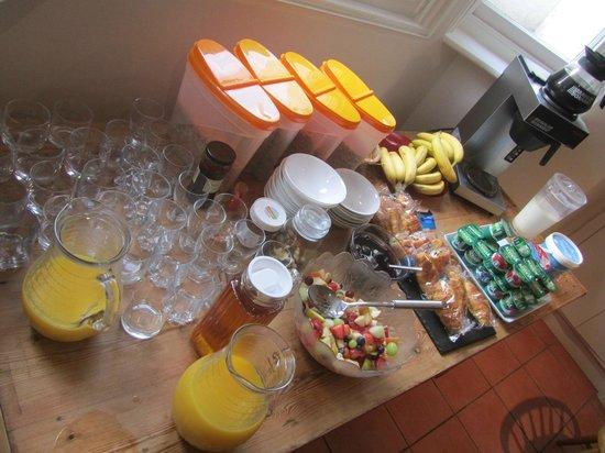 Warkworth House : Desayuno