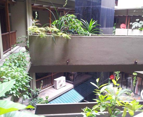Janaki Hotel : Inner courtyard