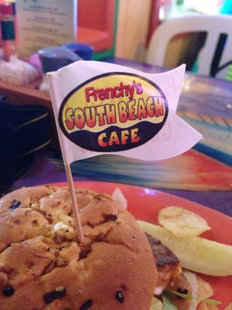 Frenchy's Saltwater Cafe : Best Grouper Sandwich around