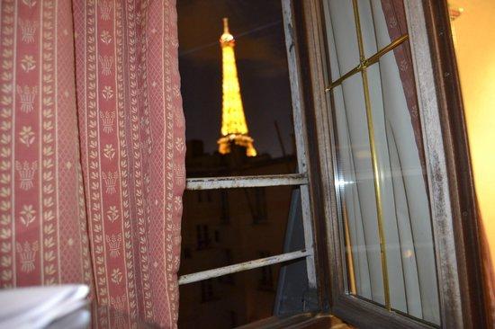 Eiffel Rive Gauche : vista desde la habitacion