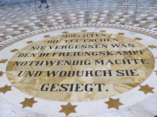 Befreiungshalle Kelheim: floor