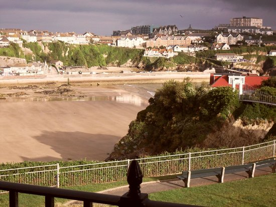 Tregella Guest House Newquay: Another view from our room - early morning in late July