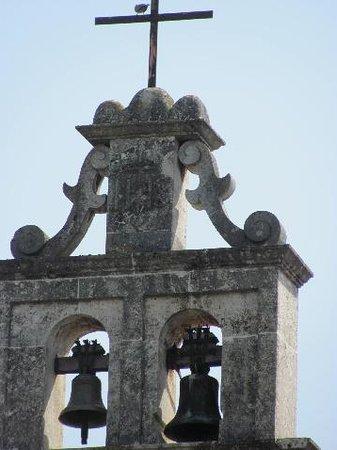 Altes Friedhof: detail belltower