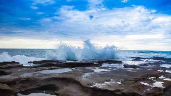 El Remanso Lodge : Pacific Ocean natural pools