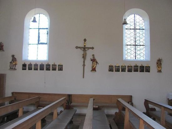 Alte Pfarrkirche Hl. Kreuz: detail