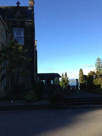 Stonefield Castle Hotel: stunning views