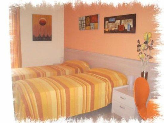 B&B del Centro Storico: camera arancio
