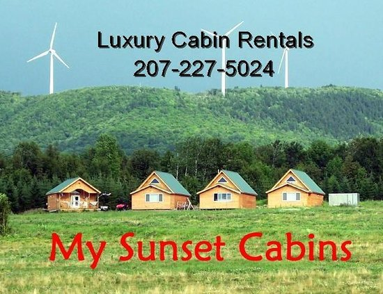 Mars Hill, ME: Luxury Cabins
