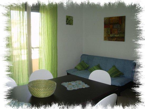 B&B del Centro Storico: soggiorno bilocale verde