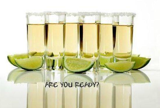La Parrillita Mexico: Shots de Tequila!