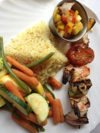 Red Barn: Shrimp and Scallops Skewers