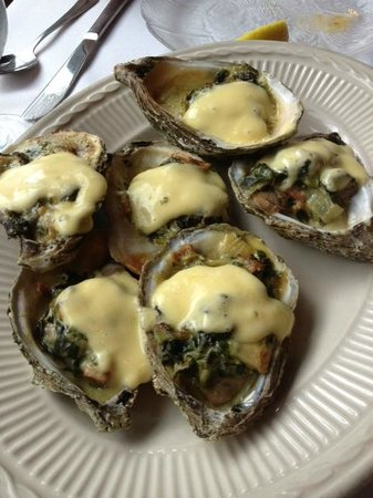 Red Barn: Oysters Rockefeller