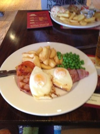 Brewers Fayre: Grilled Gammon Steak