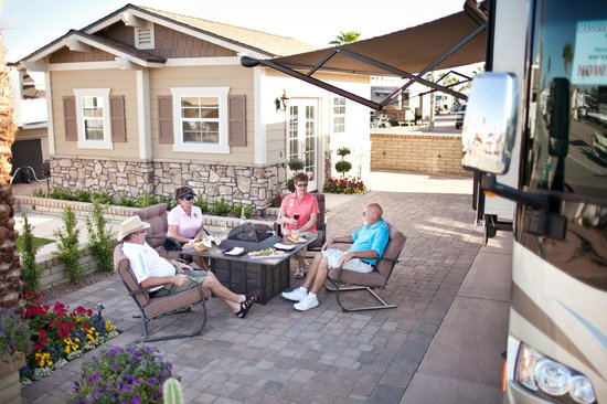 Resort Grounds Picture Of Palm Creek Golf Amp Rv Resort