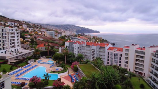 The Jardins d'Ajuda Suite Hotel: A view from the Hotel Room