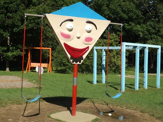 The Lantern Resort Motel and Campground: one of the swing sets