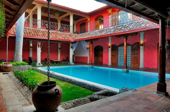 Hotel Casa del Consulado : Cada dettale de su color nos impresiono