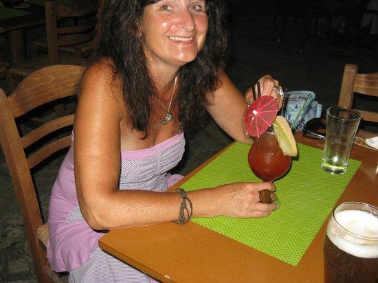 Taverna Opa: My birthday cocktail