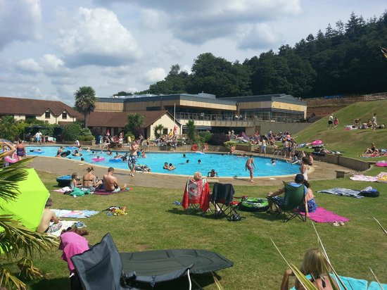 Cofton Country Holidays: The Outdoor Pool