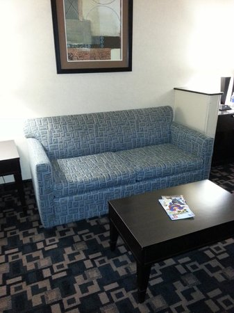 Holiday Inn Express Hotel & Suites - Glen Rose : sofa in the living area