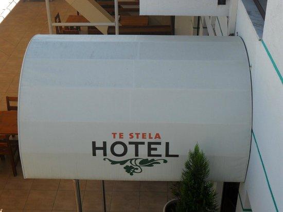 Te Stela Resort : The entrance