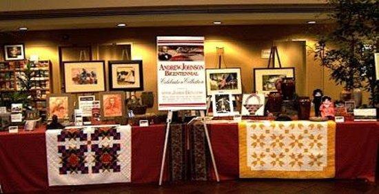James-Ben: Studio & Gallery Art Center: Off site display during the Andrew Johnson Bicentennial