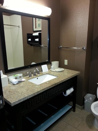 Holiday Inn Express Hotel & Suites - Glen Rose : bathroom vanity