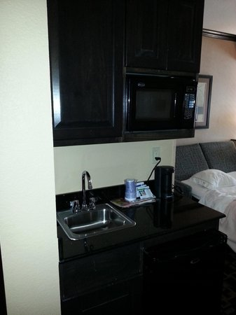Holiday Inn Express Hotel & Suites - Glen Rose: complimentary water and popcorn